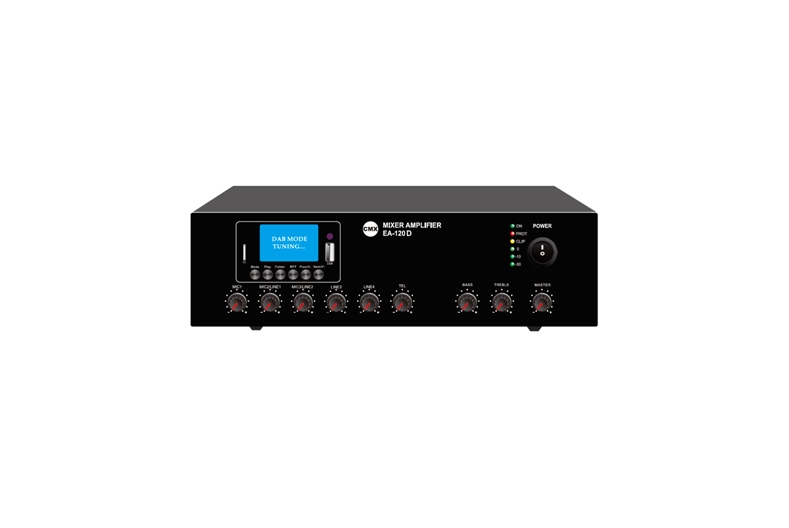 Mixer Amplifier with USB/SD & DAB+ FM & Blue Tooth, EA-30D EA-60D EA-120D
