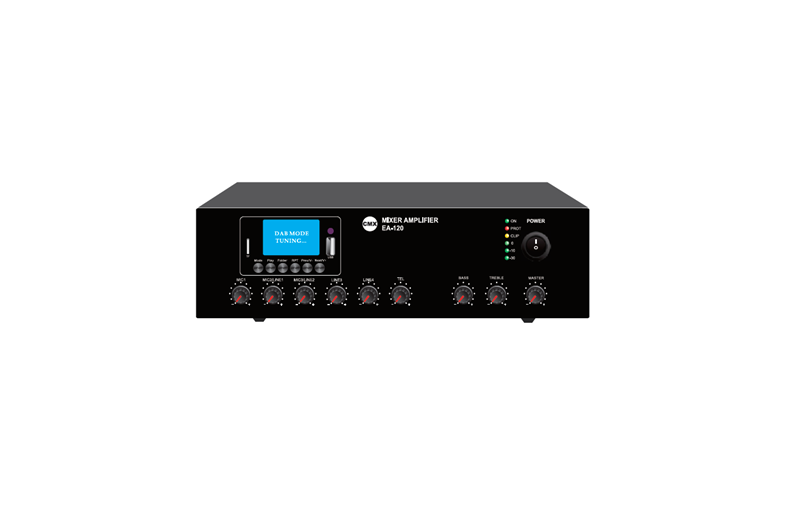 Mixer Amplifier with USB/SD & FM & Blue Tooth, EA-30, EA-60, EA-120
