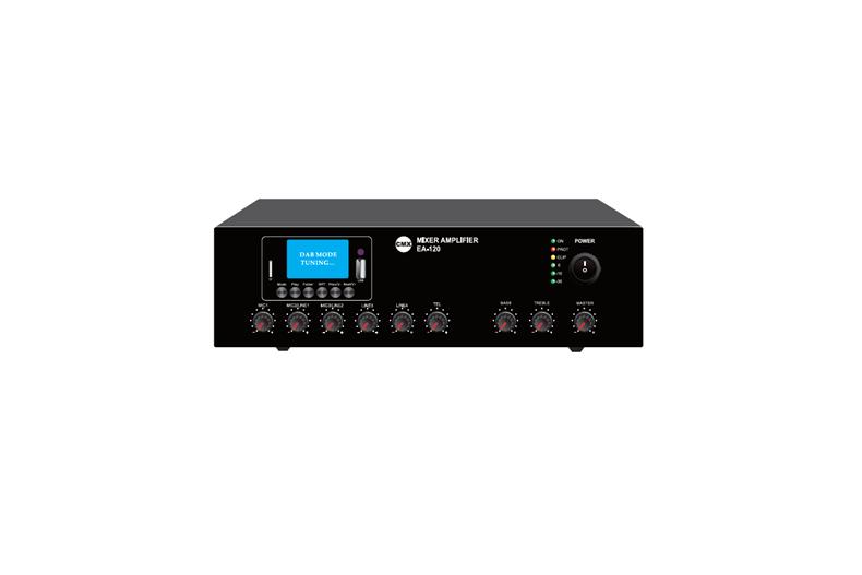 Mixer Amplifier with USB/SD & FM & Blue Tooth, EA-30, EA-60, EA-120