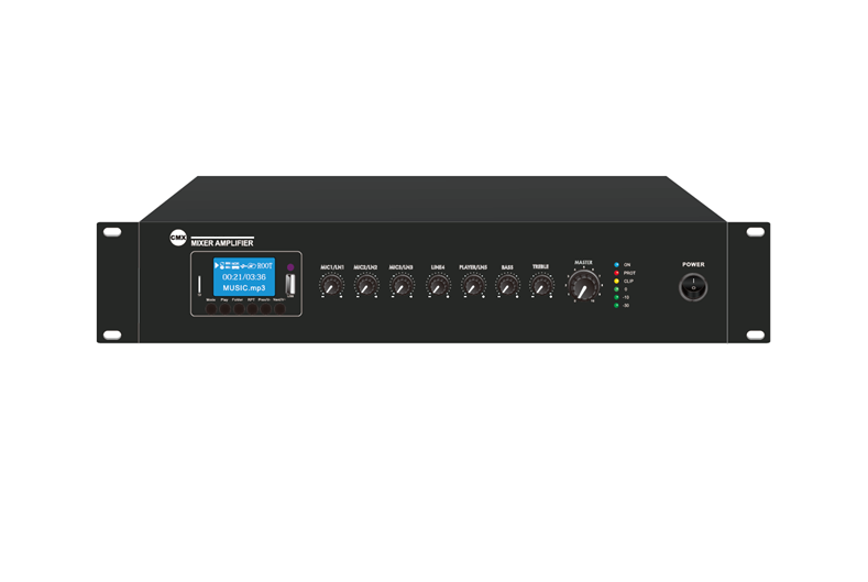 Mixer Amplifier with USB/SD & FM & Bluetooth, EA-60A, EA-120A, EA-240A, EA-350A, EA-500A