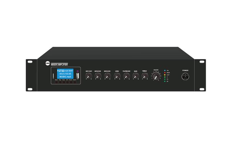 Mixer Amplifier with USB/SD & FM & Bluetooth, EA-60A, EA-120A, EA-240A, EA-350A, EA-500A