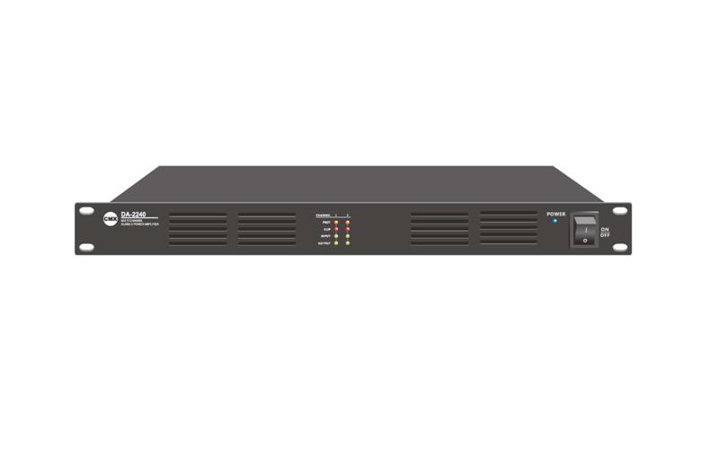 Two Channel Class-D Power Amplifier DA-2120, DA-2240, DA-2350, DA-2500