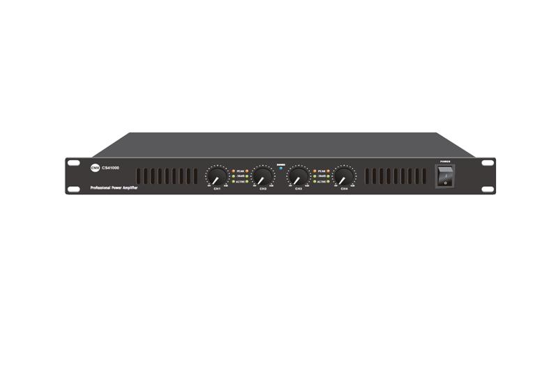 Four Channel Power Amplifier CS-4100 CS-4200 CS-4300 CS-4400