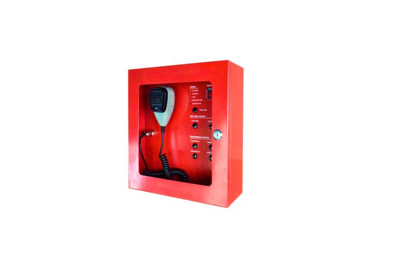 EN54-16 Fireman's Microphone EVAC-500FM