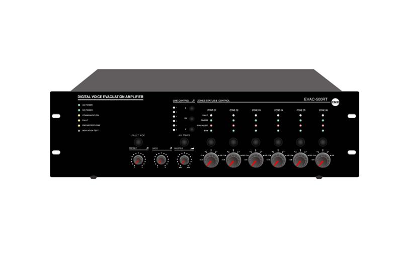 EN54-16 Voice Evacuation Router EVAC-500RT
