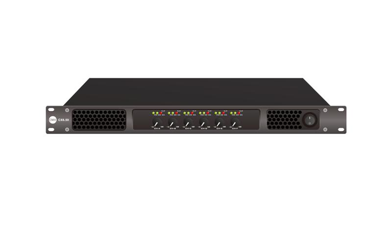Six Channel Power Amplifier CX6.50