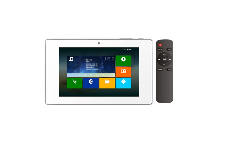 A7 In Wall Amplifier 7 Inch Touch Screen 8 Zone