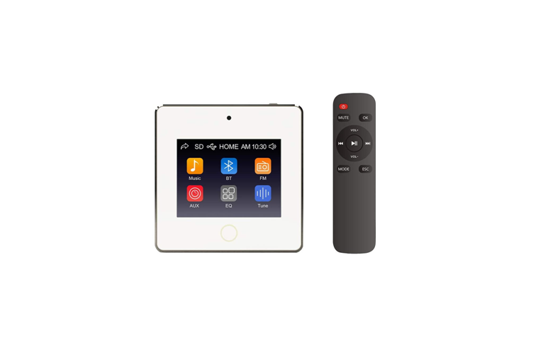 A4 In Wall Amplifier 3.5 Inch Touch Screen 4x 30W