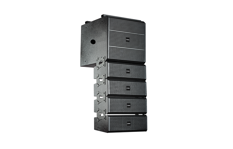 LAS-25A 3-Way Active Line Array Loudspeaker System