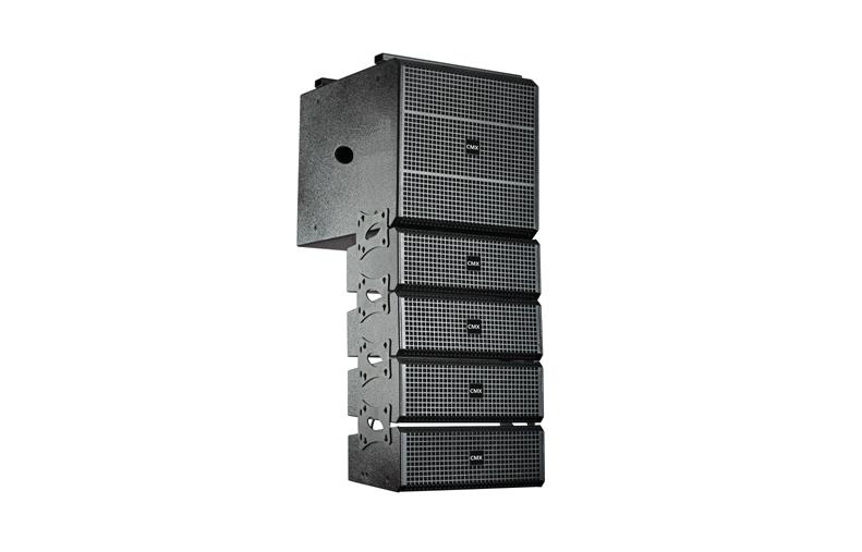 LAS-25A 3-Way Active Line Array Loudspeaker System