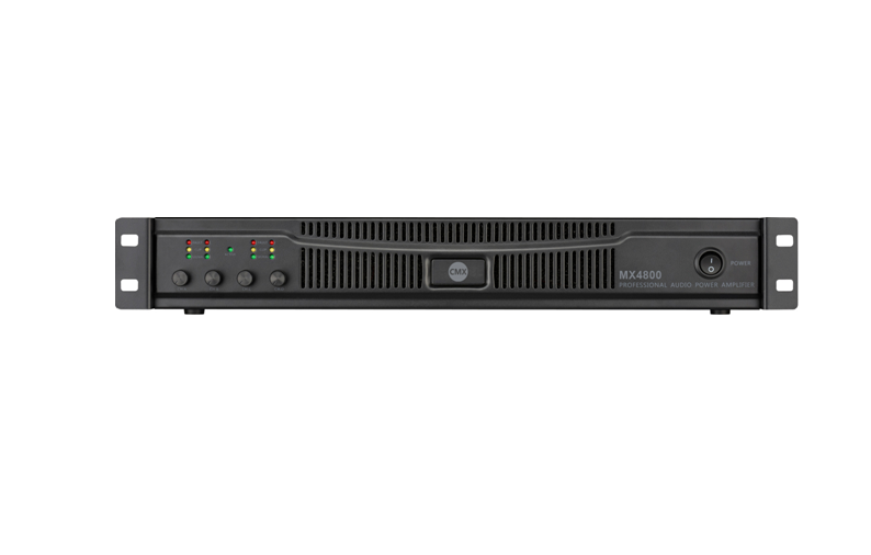MX4600 MX4800 Four Channel Power Amplifier