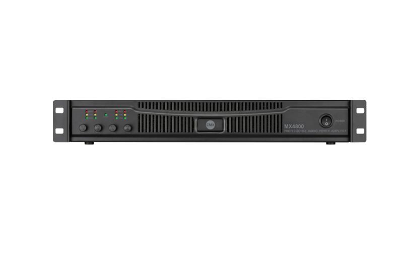 MX4600 MX4800 Four Channel Power Amplifier