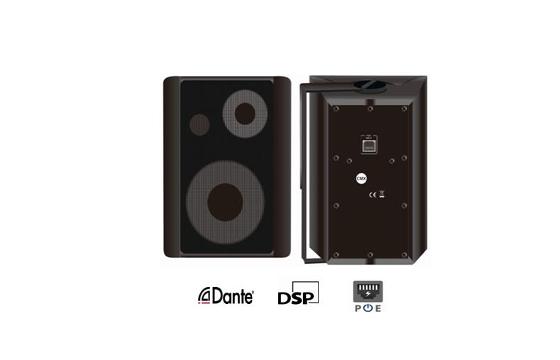 DANTE-530C DANTE-530CW Dante Enabled Wall Mount Speaker with DSP