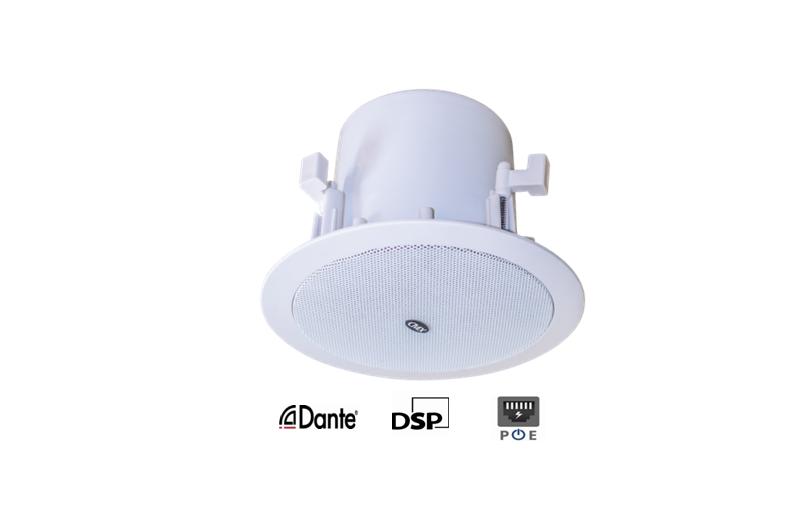 DANTE-630K Dante Enabled Ceiling Speaker With DSP