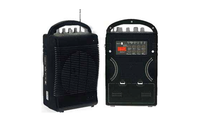 Portable Wireless PA Amplifier with Built-in Rechargeable Battery  PMA-35B