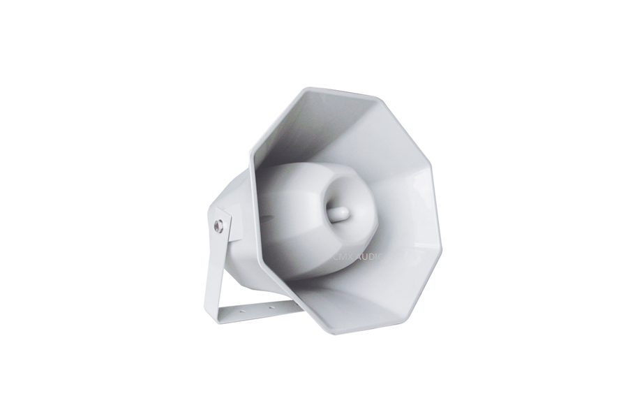 MHS-80 Outdoor Music Horn Speaker 80W 100V 70V & 8 Ohm IP66